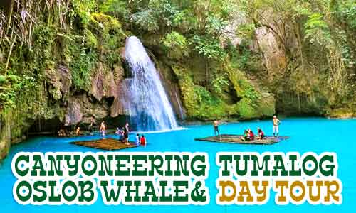 canyoneering cebu tour package