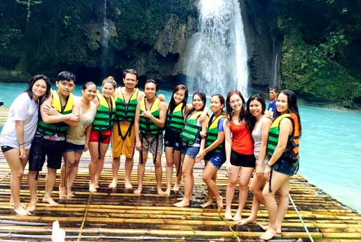canyoneering cebu day tour